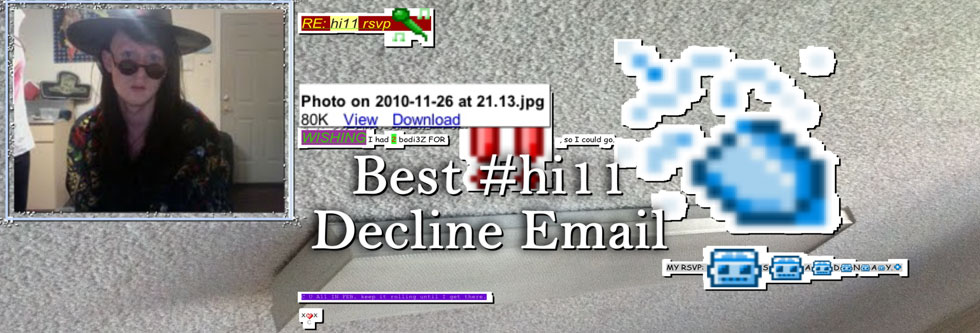 Best #hi11 Decline Email - Colin Self