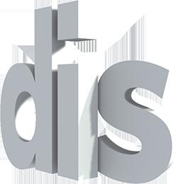 DIS Magazine logo, small
