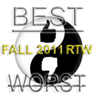 DIS Magazine: Best and Worst of Womens Fall 2011