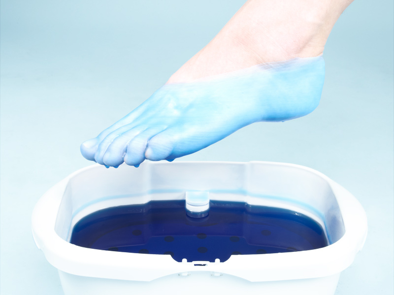 Spa Spell: Foot wax bath