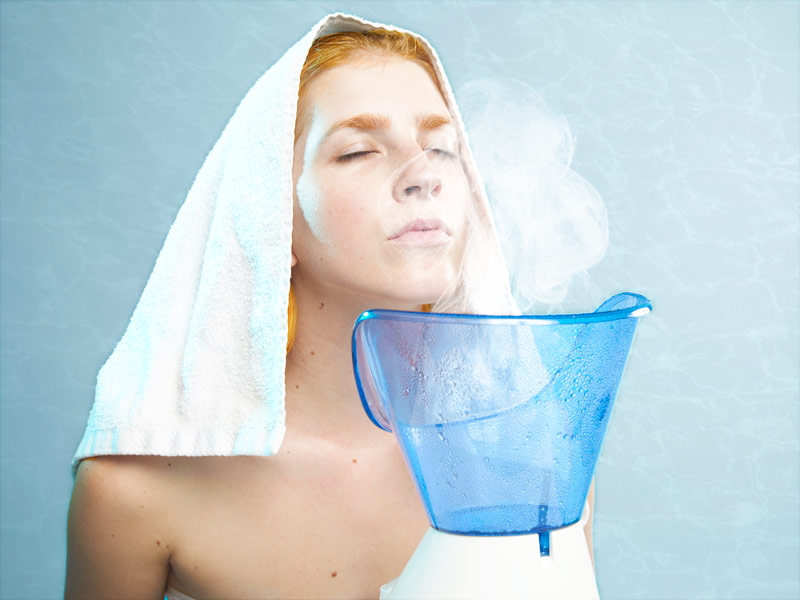 Spa Spell: Aromatic Herbal Steam
