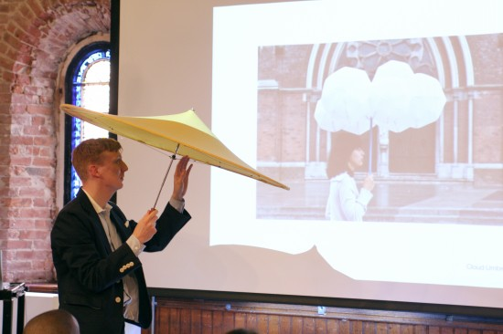 RISD Furniture Crit Lui Kuwasumi Umbrellas