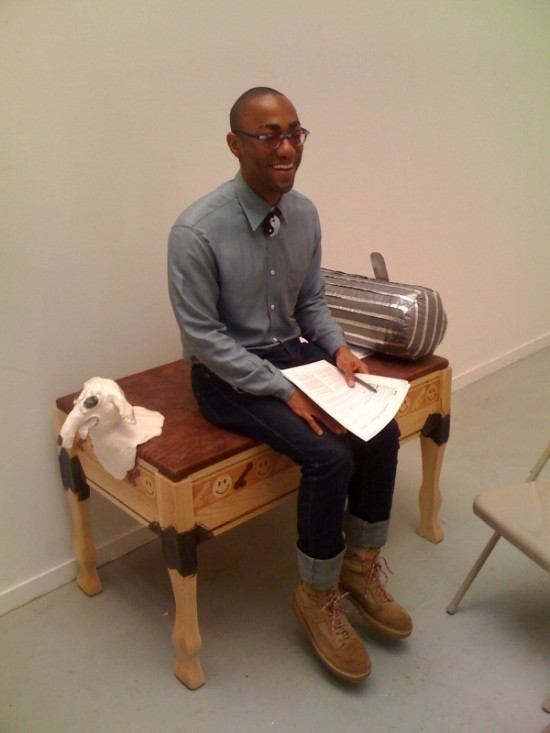 RISD Furniture Crit Evan Murphy Tutankhamen Dog Bed