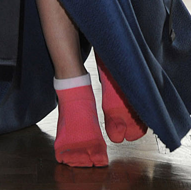 DIS Magazine: Margiela Couture Sock Shoes