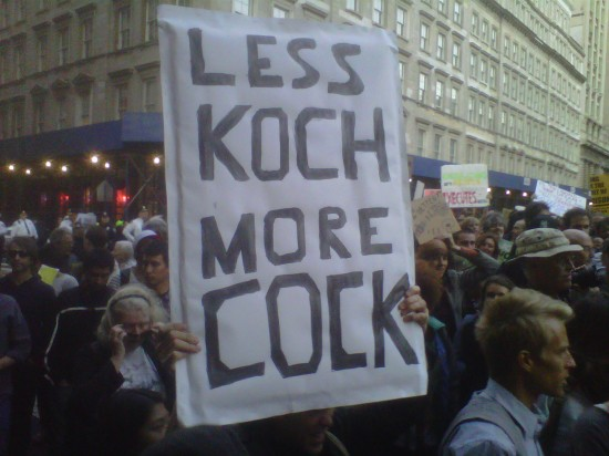What's wrong with #OccupyWallSt? Be specific.