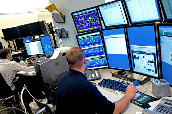 High-frequency trading in forex market