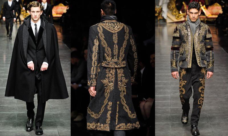 baroque inspired fashion men - photo #10