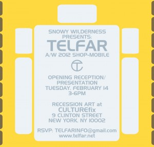 DIS Magazine: TELFAR Autumn/Winter 2012: SHOP-MOBILE