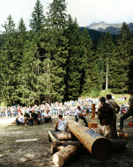 Concours de bûcherons, 4 septembre 1994