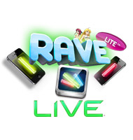 raveLITE Live