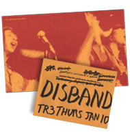 DISBAND