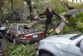 DIS Magazine: Posing with Hurricane Sandy