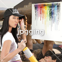 DIS Magazine: DISimages.com  JOGGING