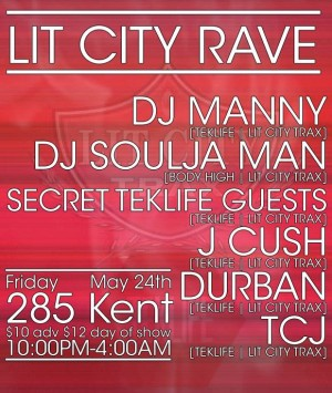 TONIGHT | LIT CITY RAVE
