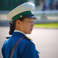 The Traffic Girls of Pyongyang