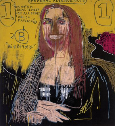 Mona Lisa, Jean-Michel Basquiat (1983)