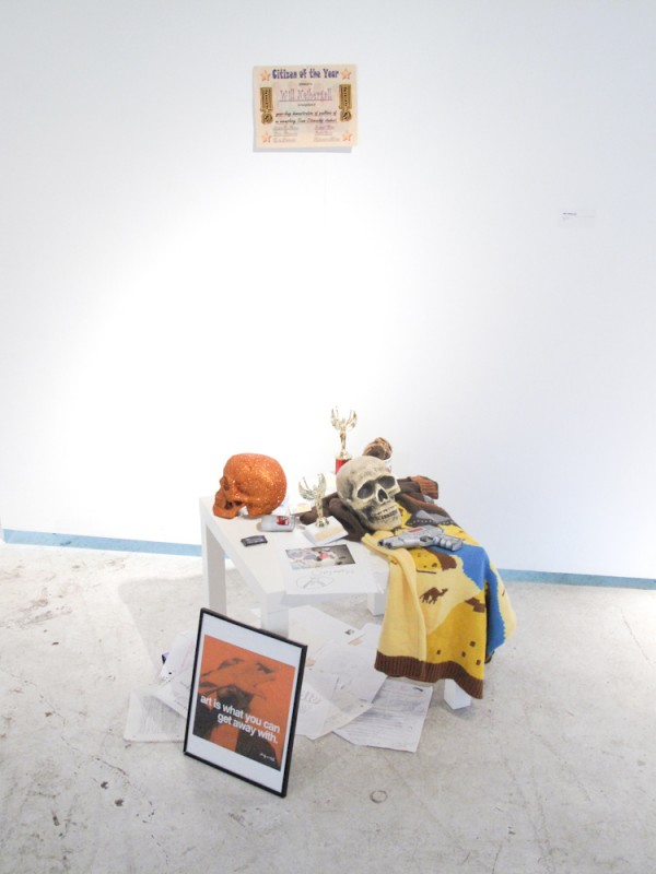 Installation at Like Art Basel, Will Niebergall (2011)