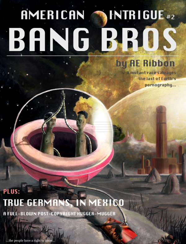 Bang Bros artwork by Josh Pavlacky of 'American Medium'