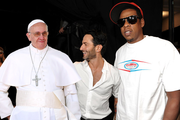 Jay Z, Marc Jacobs, and Pope Francis discuss new brand opportunities at Park Avenue Armory