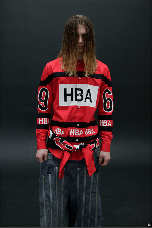 A leaked preview of the HBA SS14 collection.