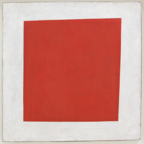 Kazimir Malevich Red Square - Painterly Realism of a Peasant Woman in Two Dimensions 1915