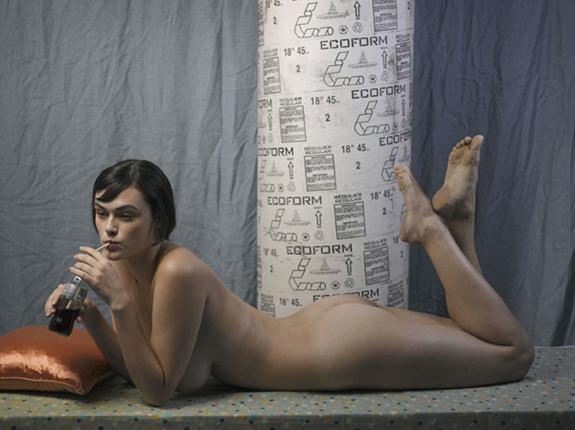 Maya with Coke, Roe Ethridge