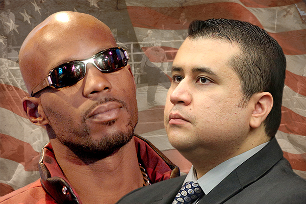 DMX-George-Zimmerman-Fight