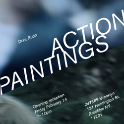 Dora Budor | Action Paintings