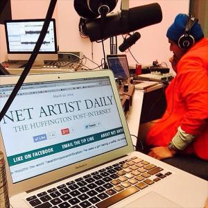 DIS Magazine: DISown Radio: Net Artist Daily