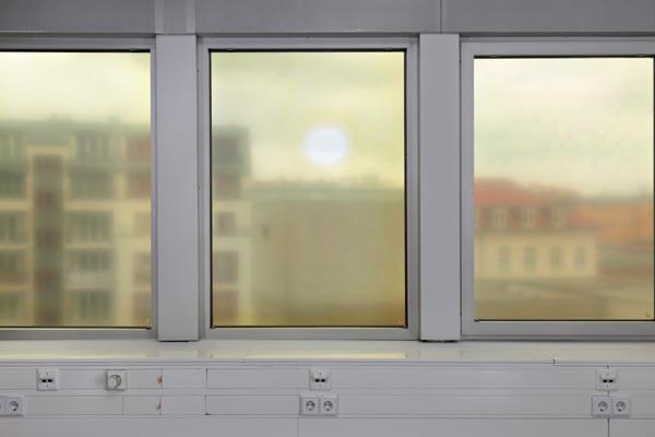 Sky View (Mars), 2014 digital print on window film
