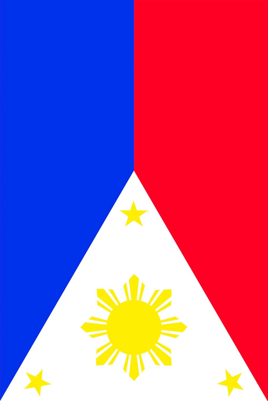 Waving Philippine Flag