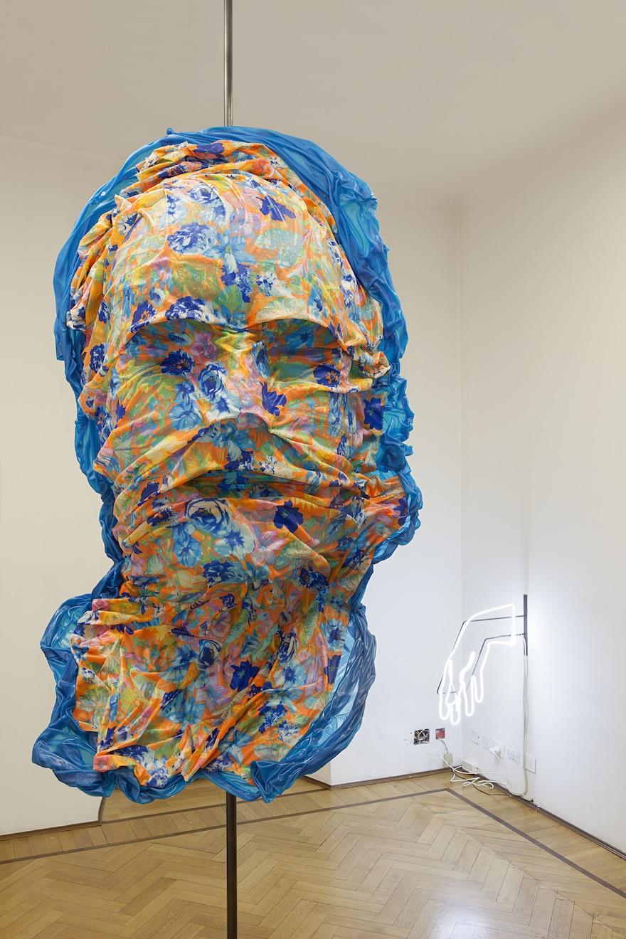 """Patrick tuttofuoco, exhibition view of """"Ambardan"""" show at Studio Guenzani, Milano. Courtesy Studio Guenzani, Milano. Photo©Andrea Rossetti"""