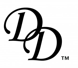 The original Debora Delmar Corporation logo created in 2009.