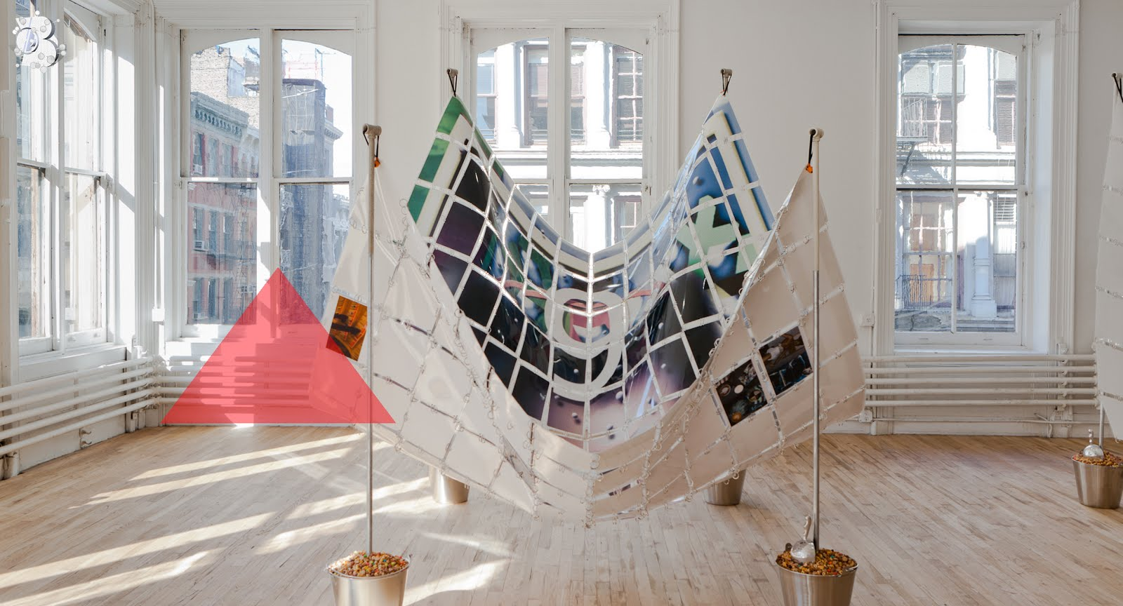 Crib (9 Months) installation view at DUOX4Larkin Artists Space, 2012