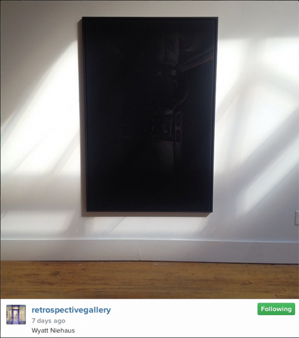 From the Retrospective Gallery Instagram, July 18, 2014.
