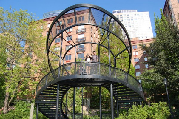 &quot;The South Cove in Battery Park is a joint design by environmental artist <a href=