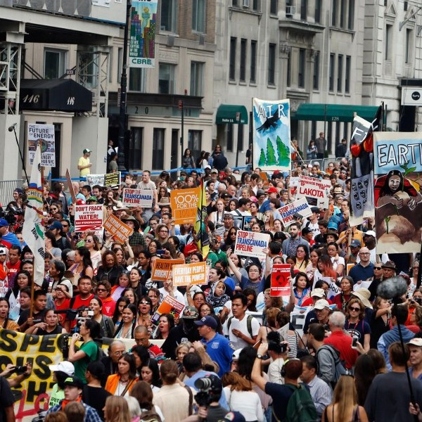 A look into the People's Climate Change March