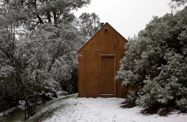 Julie Ault, reconstruction of the unabomber cabin