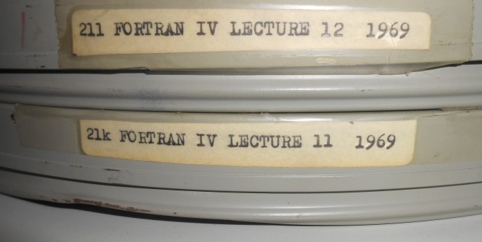 Tapes of Konstantinos Doxiadis' Fortran IV lecture series, given in 1969 at the University of California, Berkeley. Doxiadis, especially thanks to the Delos symposia, is one rare example of architect who went really deep into the understanding of technology. His writings are still providing highly valuable insights.