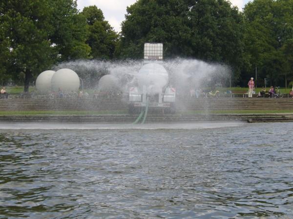 Diffuse Einträge - Skulptur Projekt Münster, 2007