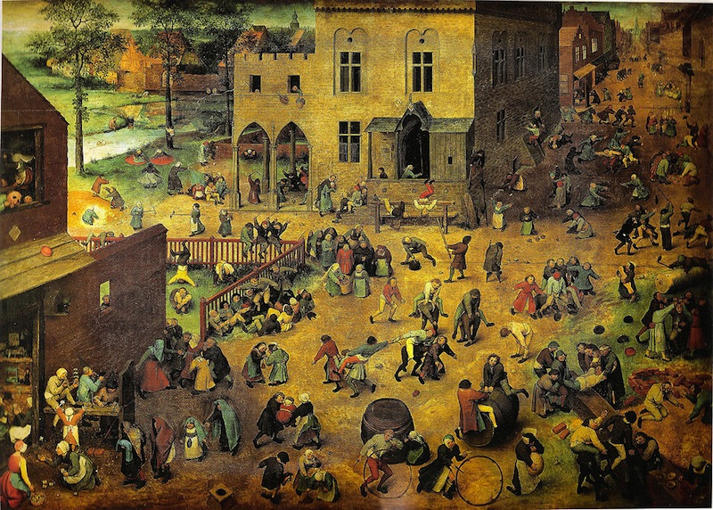 Children's Games, 1560, Pieter Bruegel the Elder