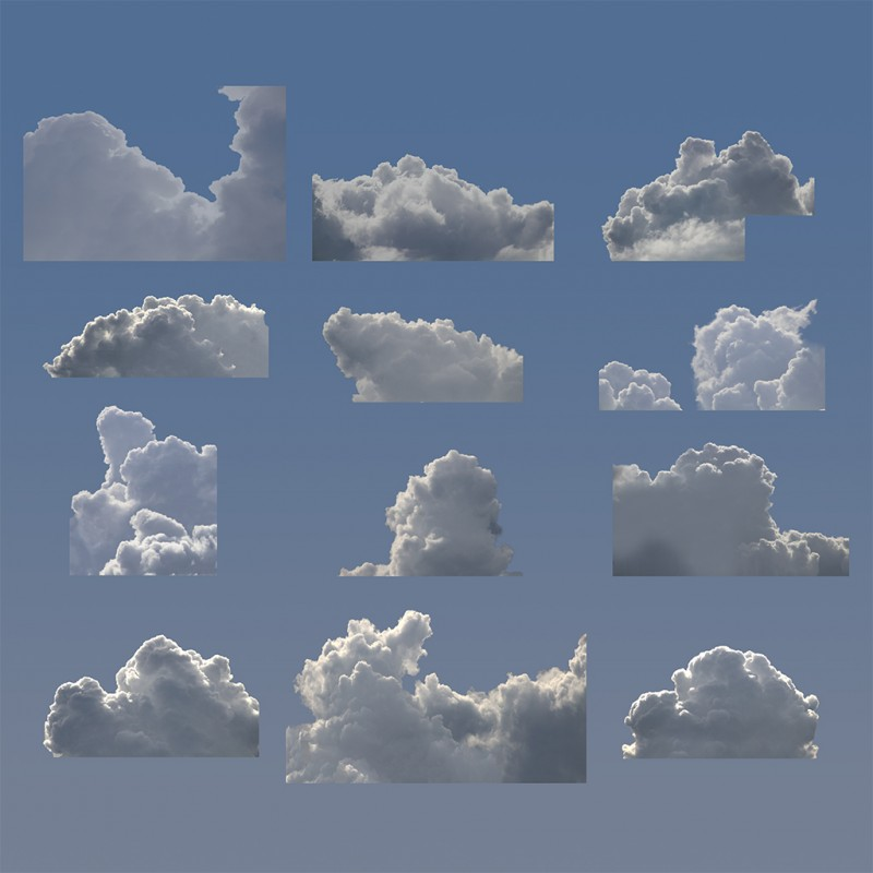 Michael Jones McKean, Cloud Formations, proto abstraction