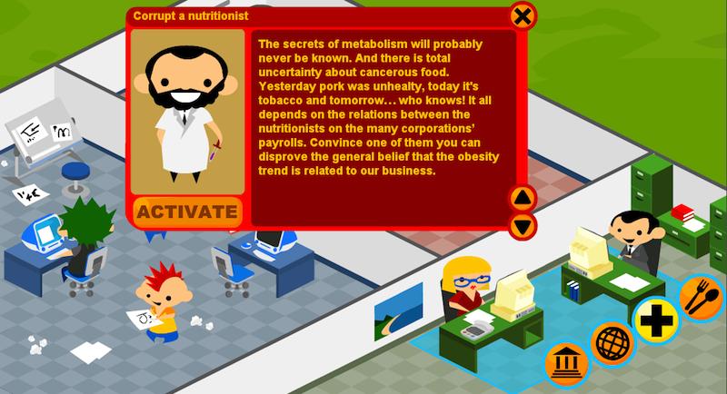 Molleindustria, McDonald's Videogame