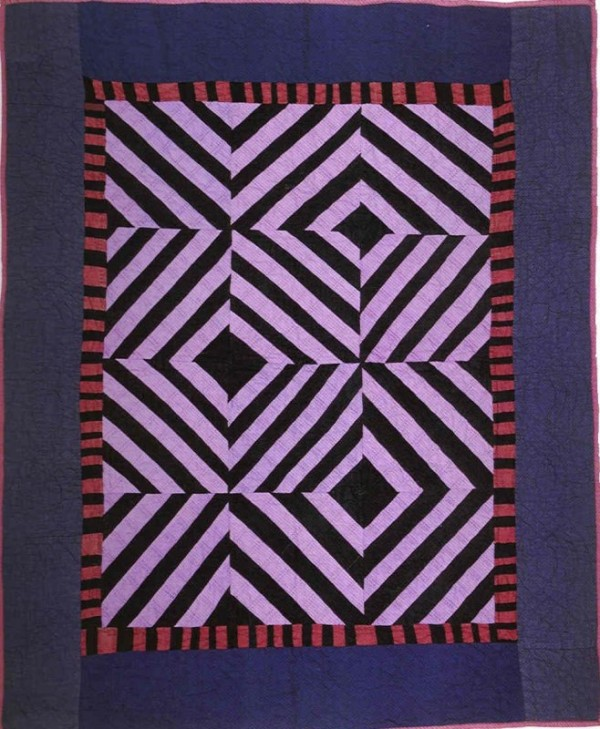Anonymous / Amish  Crib quilt, Kansas, 1920-30 Collection of Faith and Stephen Brown