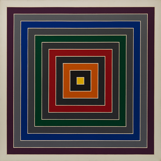 Frank Stella Gray Scramble, 1968–69 Solomon R. Guggenheim Foundation, New York