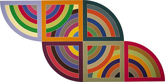 Frank Stella Harran II, 1967 Solomon R. Guggenheim Foundation, New York