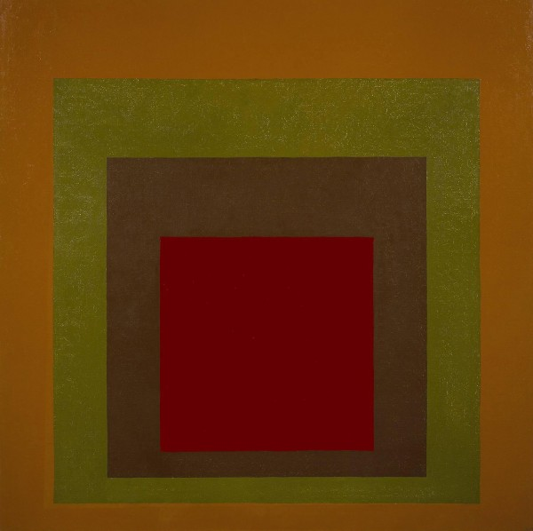 Josef Albers Homage to the square: Gained, 1959