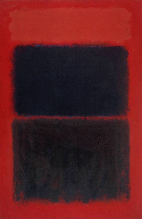 Mark Rothko No. 37/No. 19 (Slate Blue and Brown on Plum), 1958 MoMA, New York