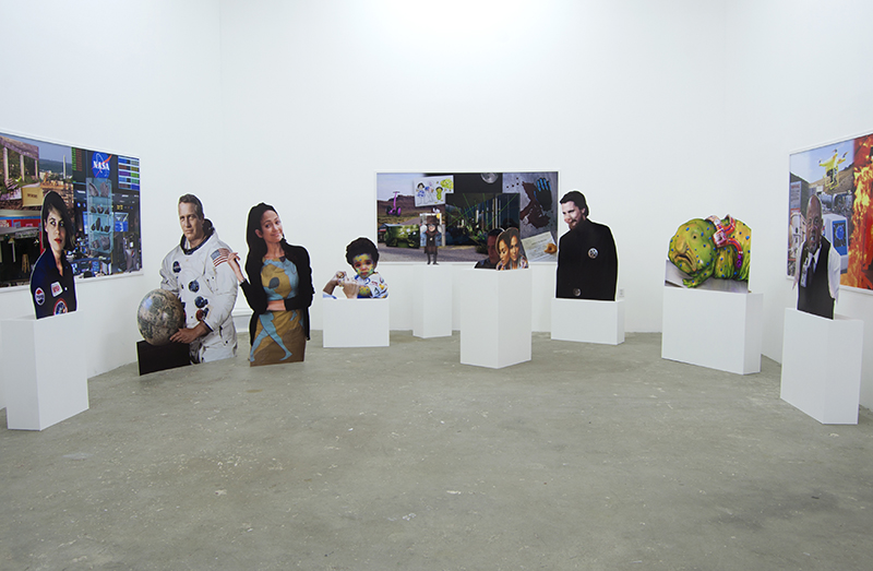 Nick DeMarco, Here on Earth, Installation View