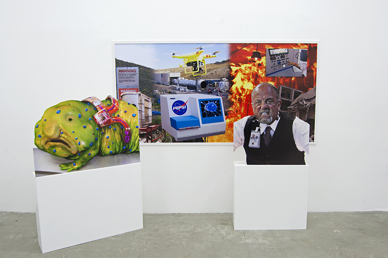 Nick DeMarco, Here on Earth, Act 3 Installation View